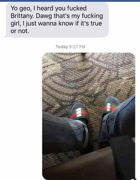 Gucci flip-flops - meme