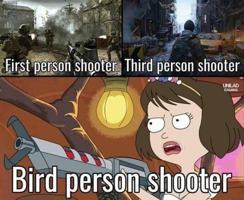 Person Shooters - meme