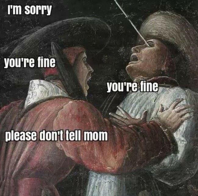 Your fine - meme