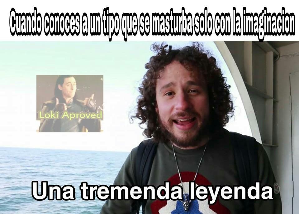 Una leyenda - meme