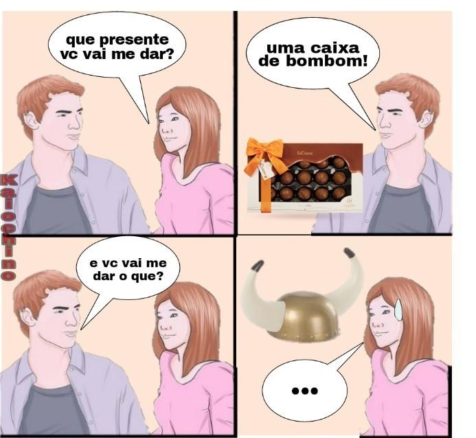 Belo presente - meme