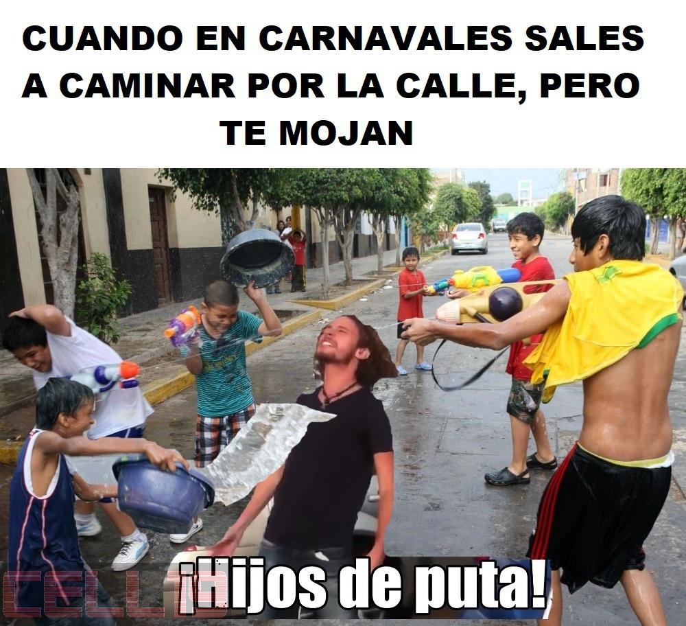 En carnavales - meme