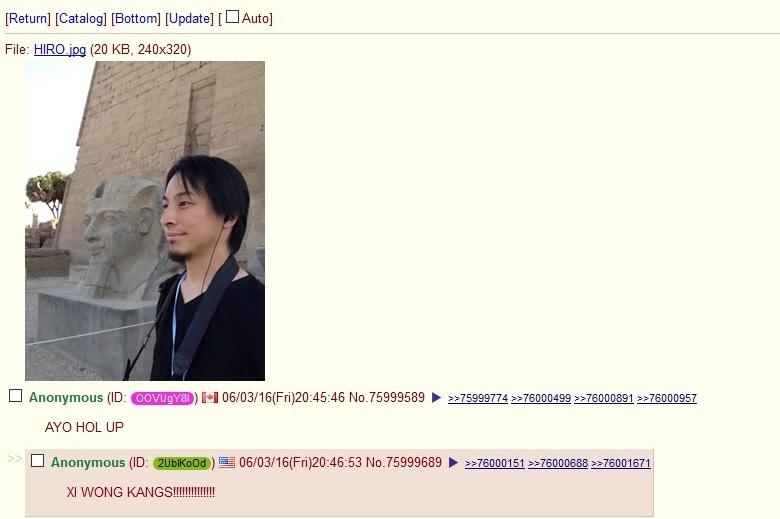 dongs in a kang - meme