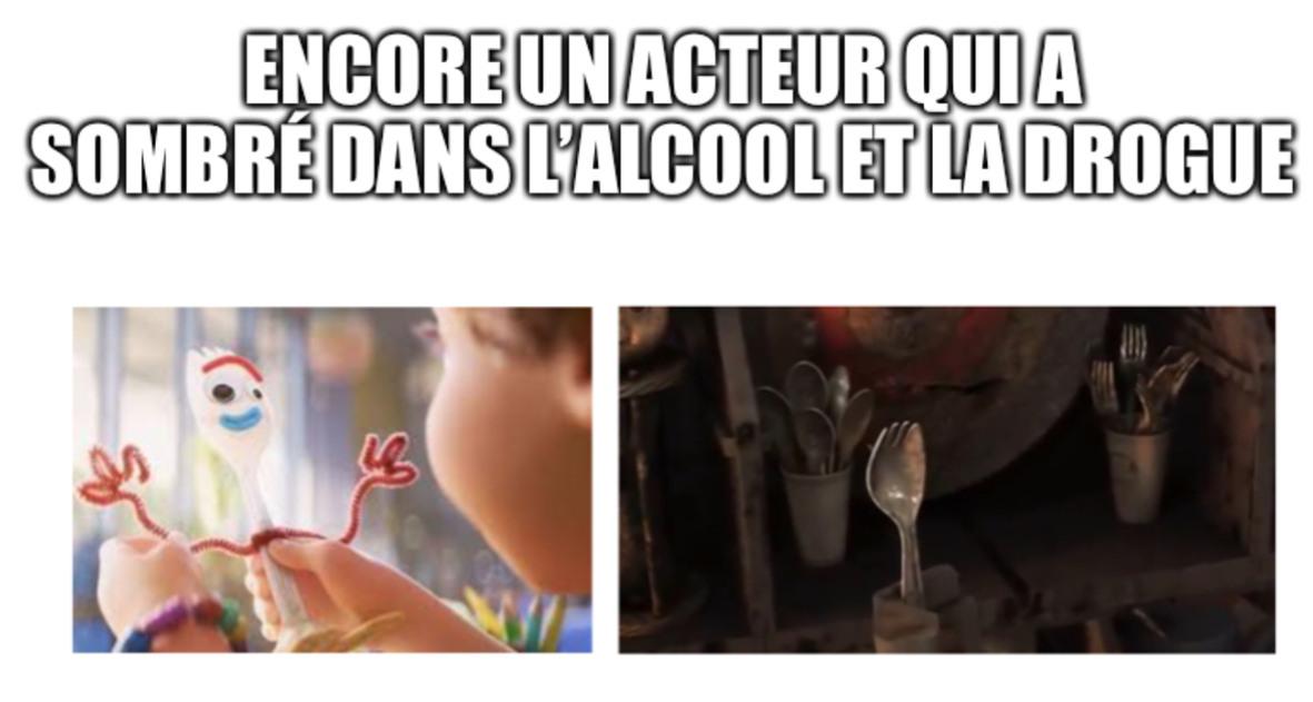 Pauvre fourchette - meme