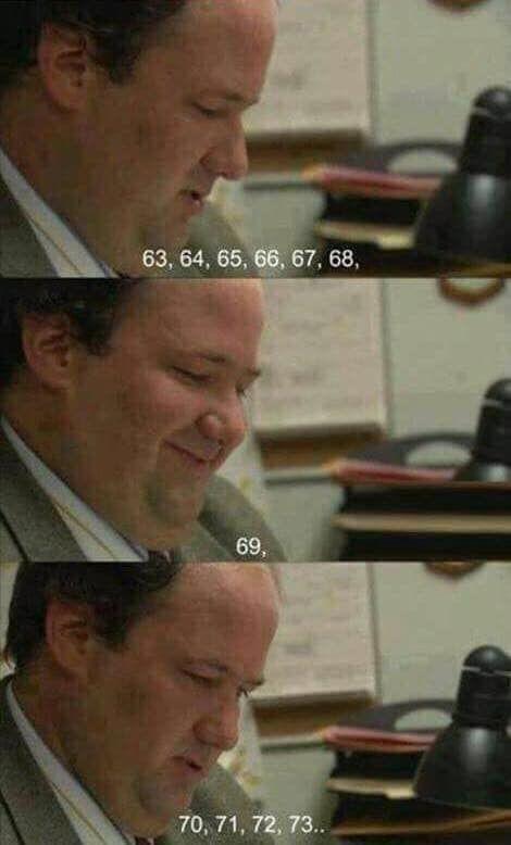 Everybody loves 69 - meme