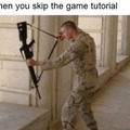 Don't skip them game tutorials!