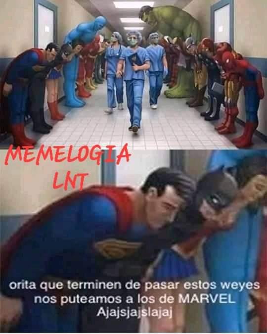 Ahora con Superman - meme