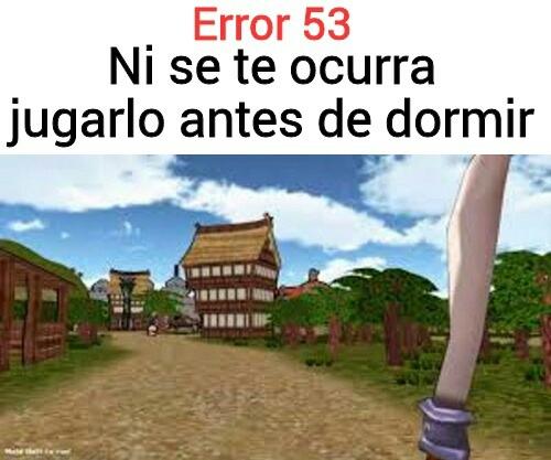 Erro 53 desconocido - meme