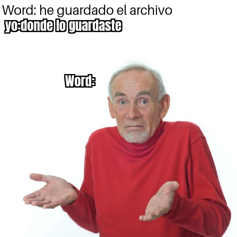 Ni puta idea - meme