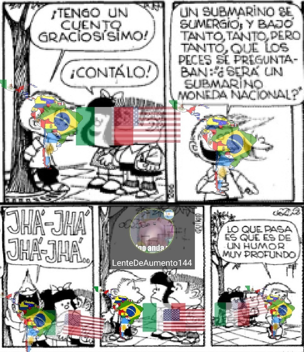 Mi segundo meme de Mafalda