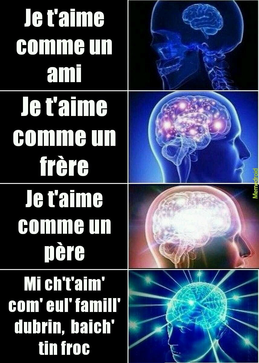 Niveaux de ch'ti-zone - meme