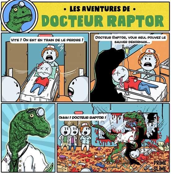 Sacré Dr Raptor - meme