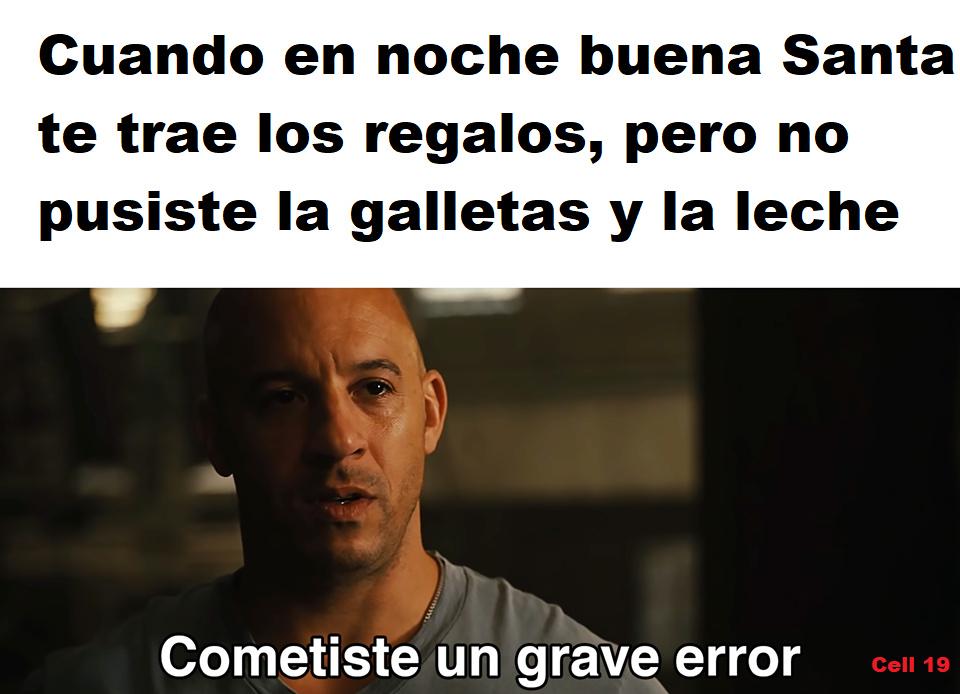 Grave error - meme