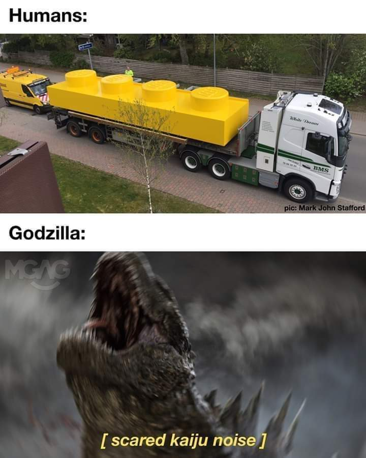 Humanity's next weapon against Godzilla.. - meme