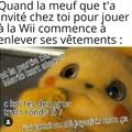 Le titre joue à la Wii