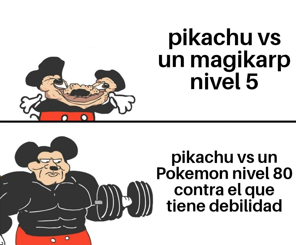 Logica del anime de pokemon - meme