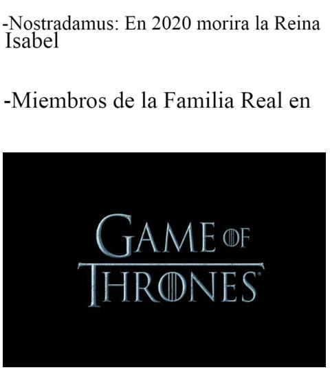 Si no me creen vean las profecias 2020 - meme