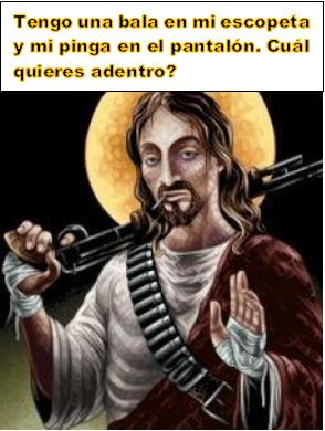 Yisus machete - meme