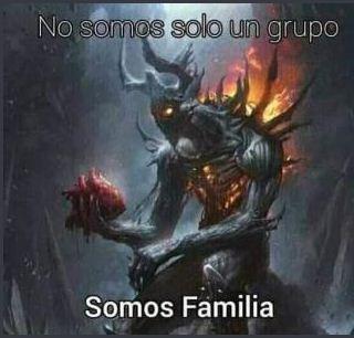 Somos familia - meme