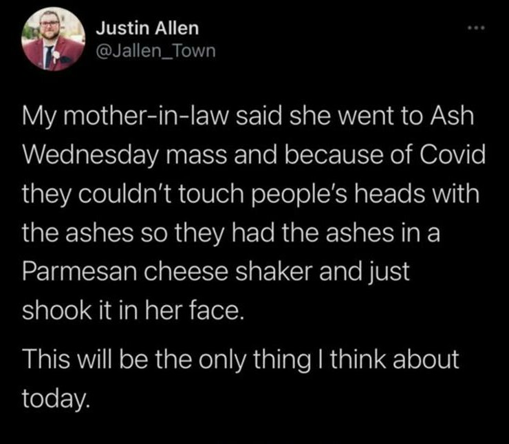 People making an ash of themselves - meme