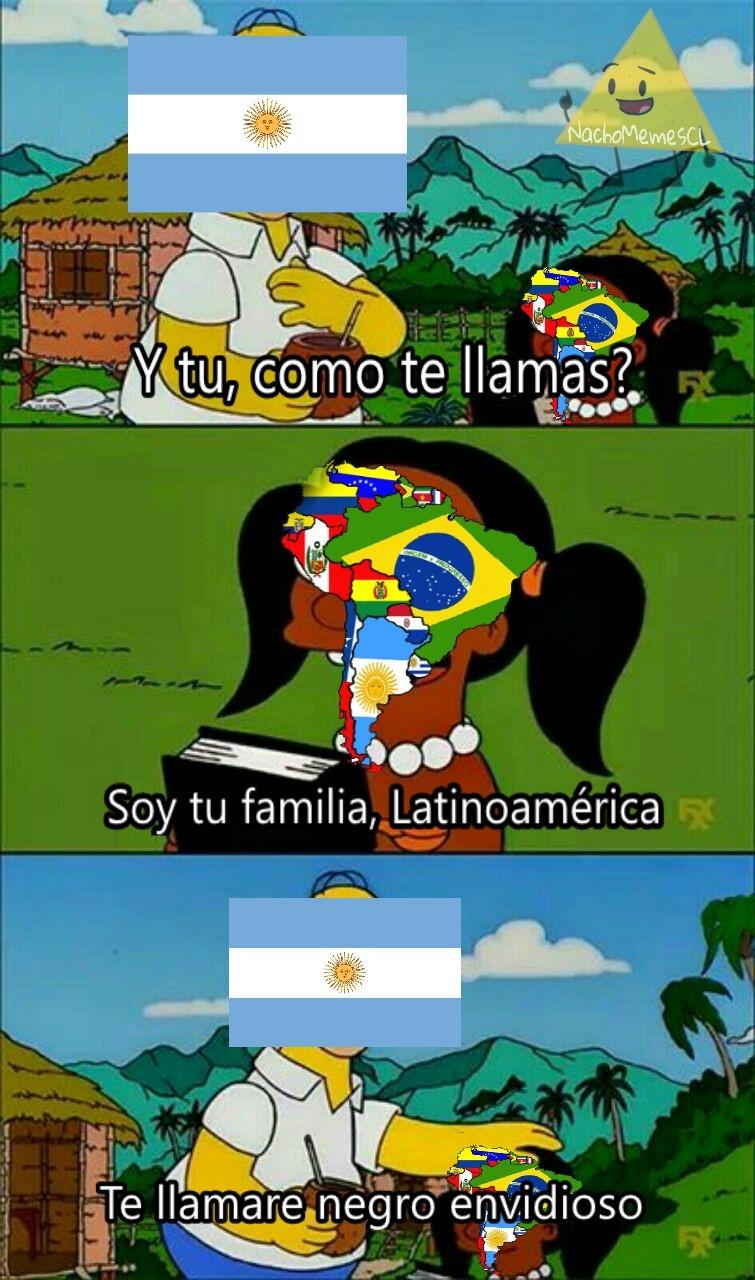 Solo humor, no tengo nada en contra de los argentinos :) - meme