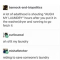 go get your laundry