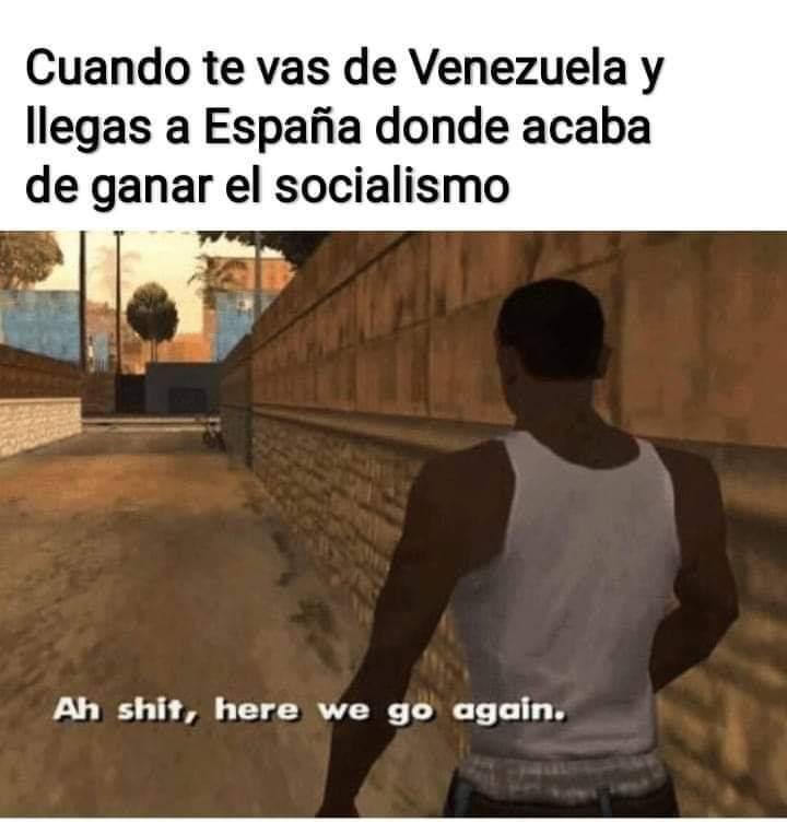 Pobre España - meme
