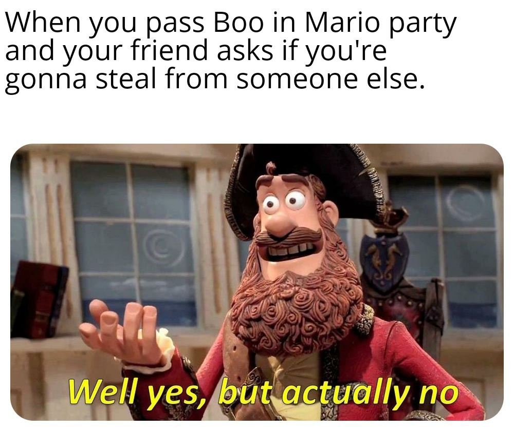 Mario Party friends - meme