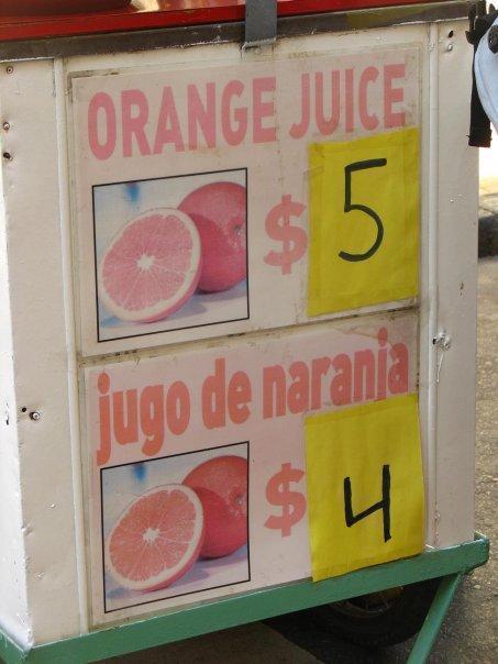 El Jugo De Naranja Es Mejor :v - meme
