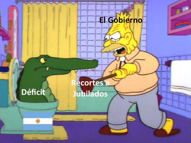 gobiernos argentinos be like: - meme