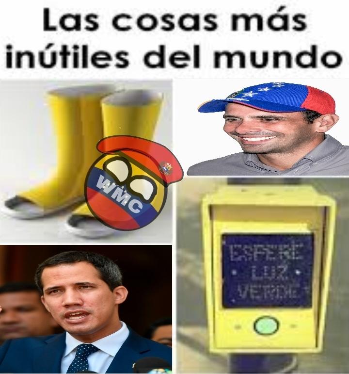 La oposición de Venezuela es la cosa más inútil que existe - meme