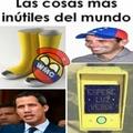 La oposición de Venezuela es la cosa más inútil que existe