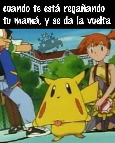 Este pikachu todo un lokillo - meme