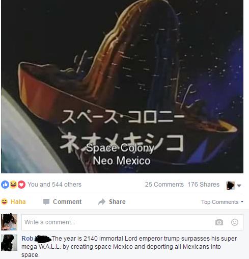 thats no moon, its a sombrero - meme