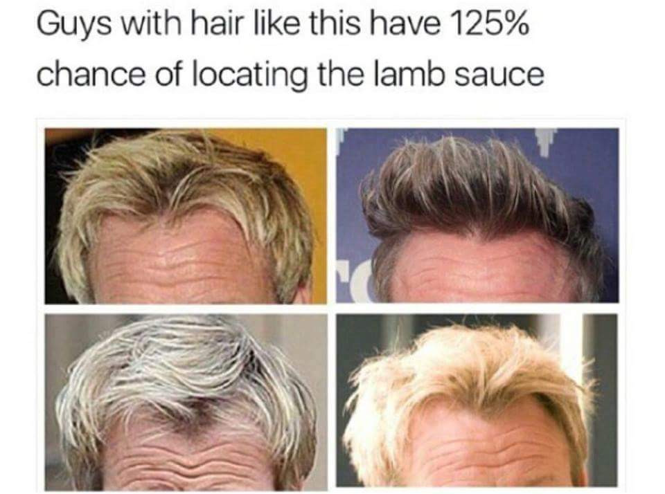 WHERES THE LAMB SAUCE - meme