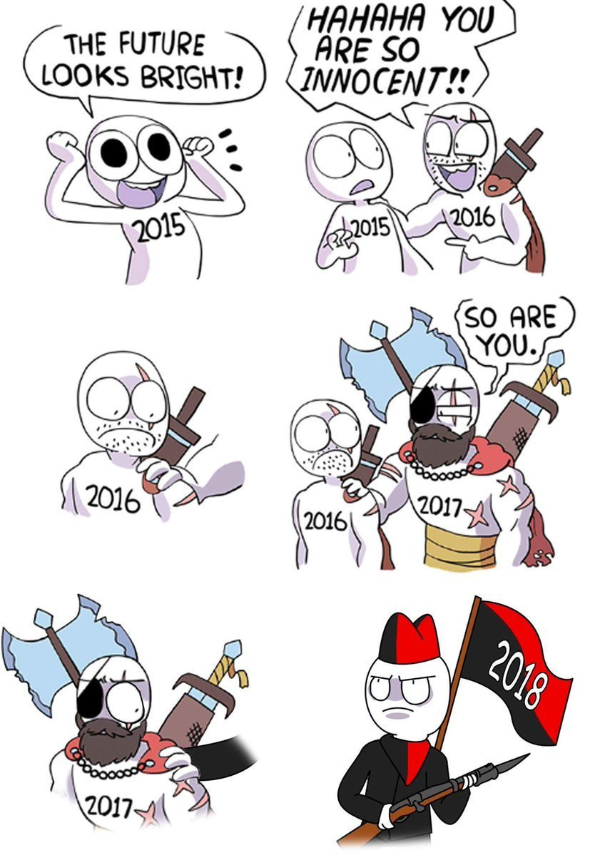 2018 - meme