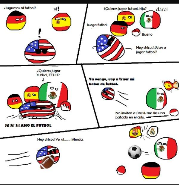 Miren a España - meme