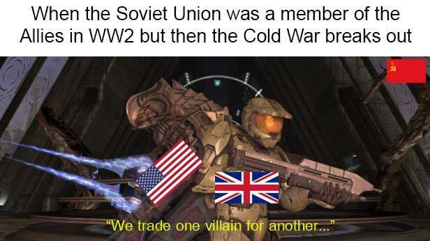 Cold wars - meme