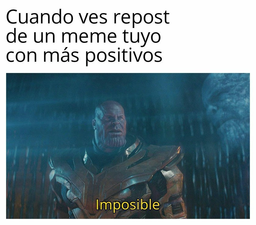 Impozible - meme