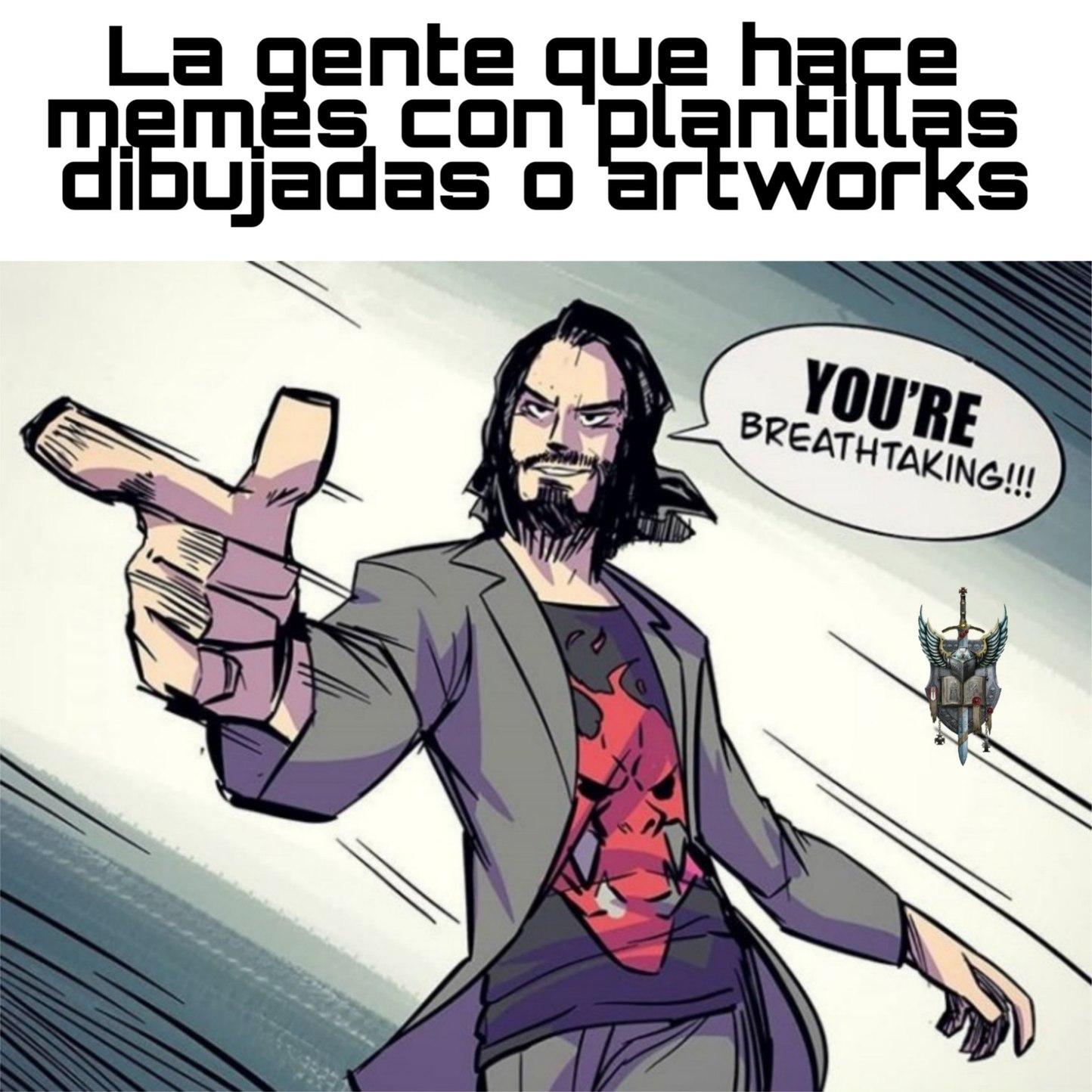 Dibujo de Chris Metzner - meme