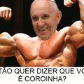 A verdadeira forma do Papa Francisco