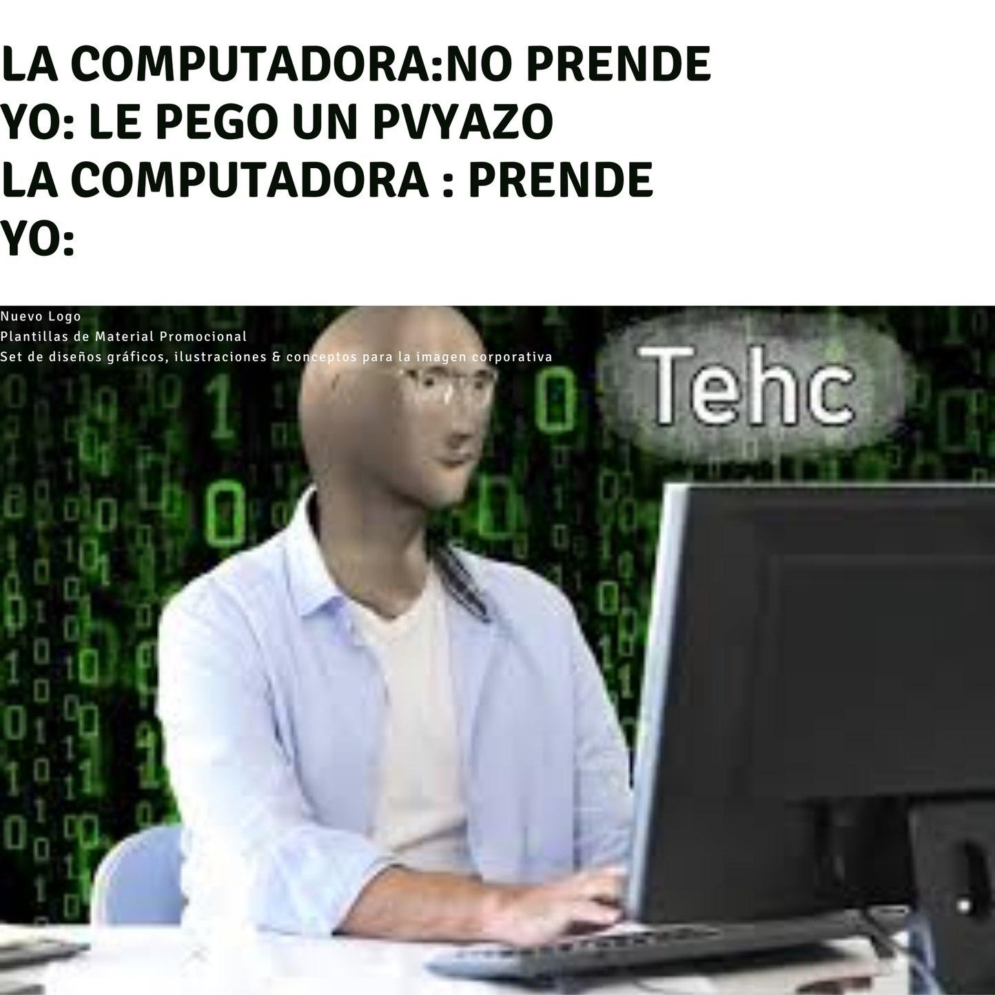 Tecniko de sistemas - meme