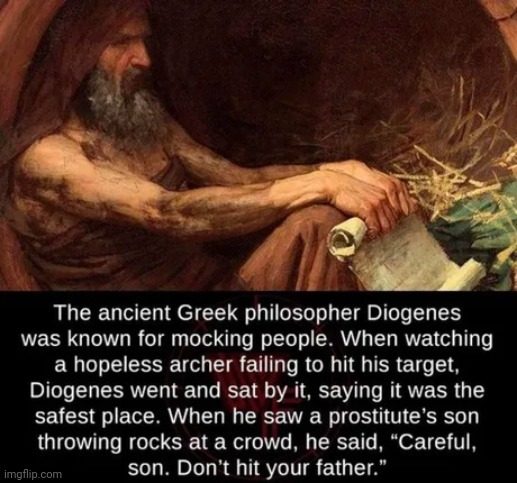 And then he turned Alexander the Great into Alcoholic - meme