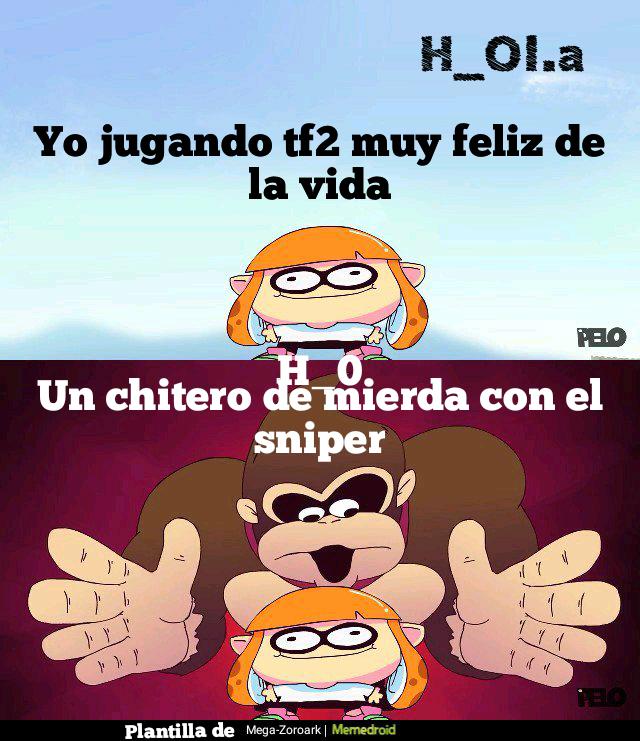 VALVE SACA A LOS CHITEROS DE MIERDA - meme