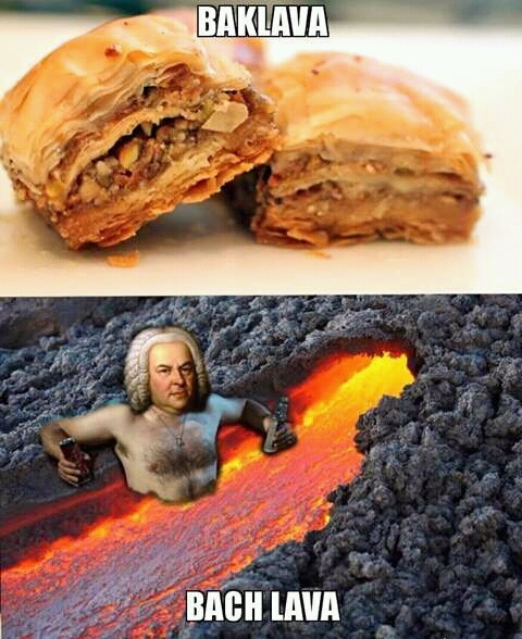 Baklava is love, baklava is life - meme
