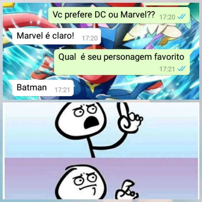 MARVEL E BEM MELHOR! - meme