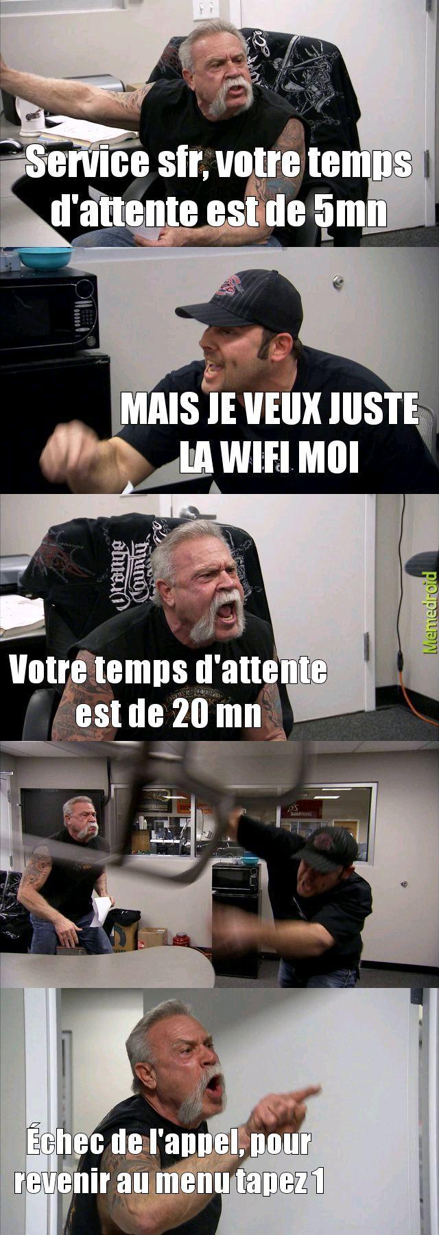 Les services wifi, ces coquins - meme