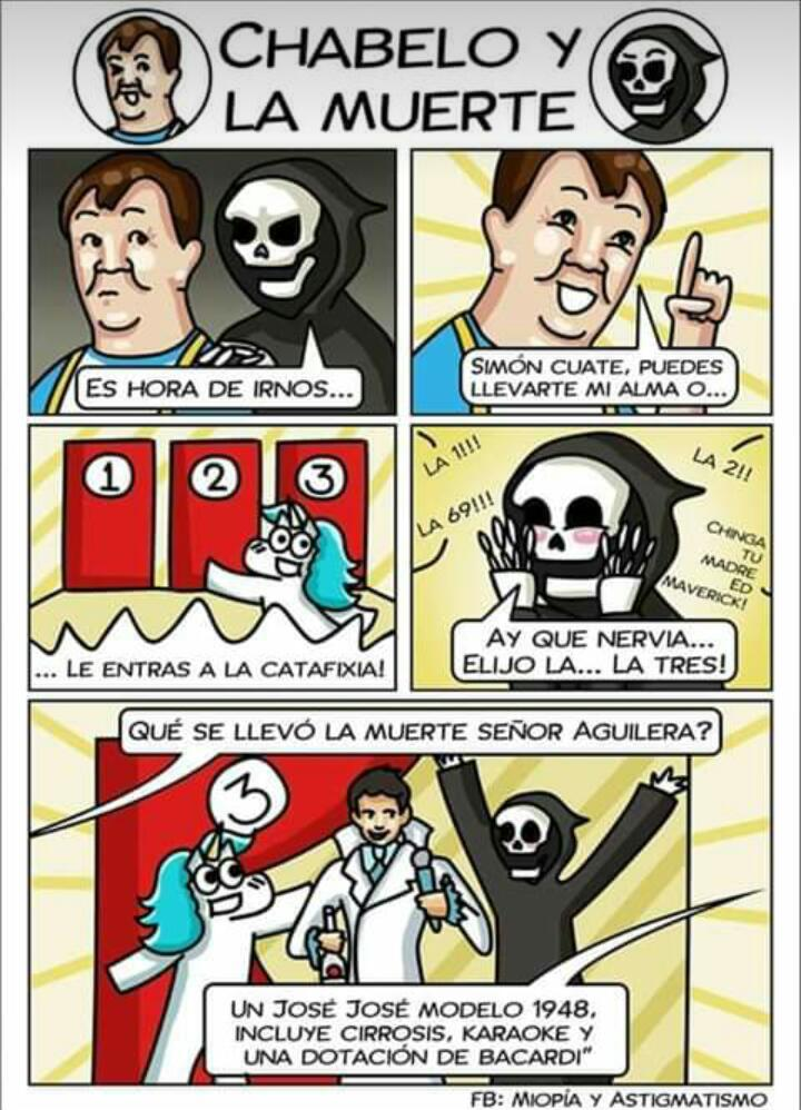 Chabelo vs la Muerte - meme