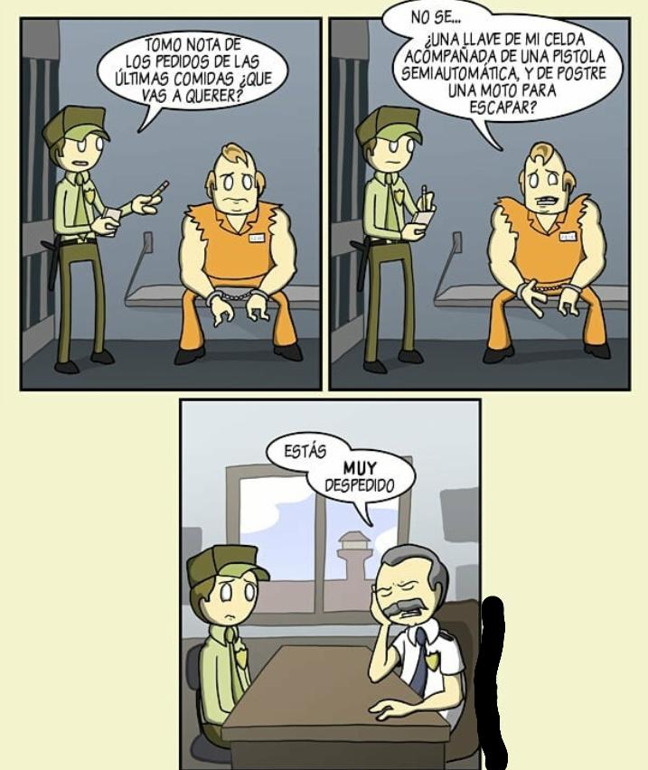 Sólo tenias UN trabajo - meme