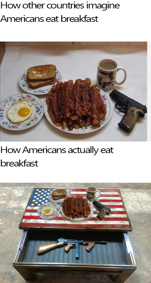 The real breakfast - meme